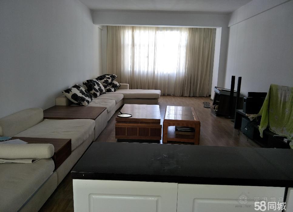 华茂苑1100元3室1厅2卫中装,带家具电视非常干净