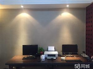 明光国际大酒店办公室出租含桌椅,可坐8人,无中介费,押1付2