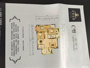 可按揭,祥和家园3室2厅2卫128.98平米