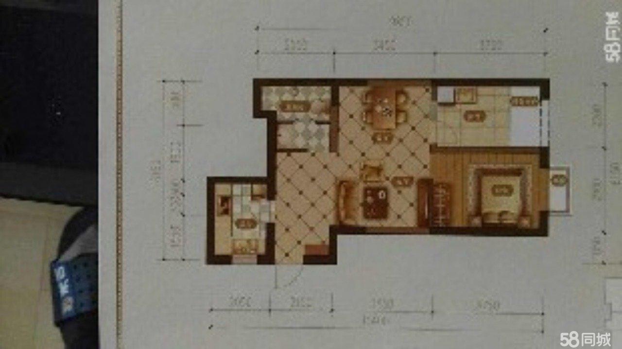 莲星中心2室1厅1卫67.73平米