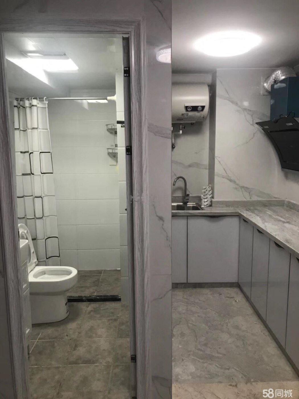 爱特公馆1200元1室0厅1卫精装修,价格便宜,交通便