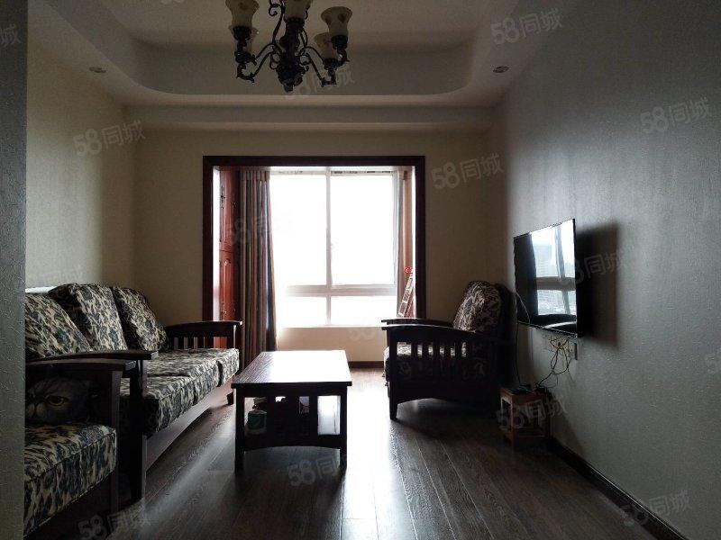 马鞍重报时代精装两室带家具视野开阔无遮挡拎包入住