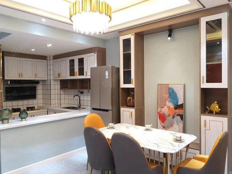 全智能家具大气的开放式厨房,引进一线城市的装修风格