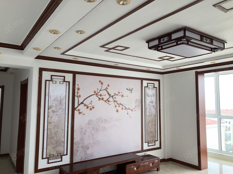 中式�L格豪�A�b修 拎包 全海景 �梯 每��窗�舳伎春�