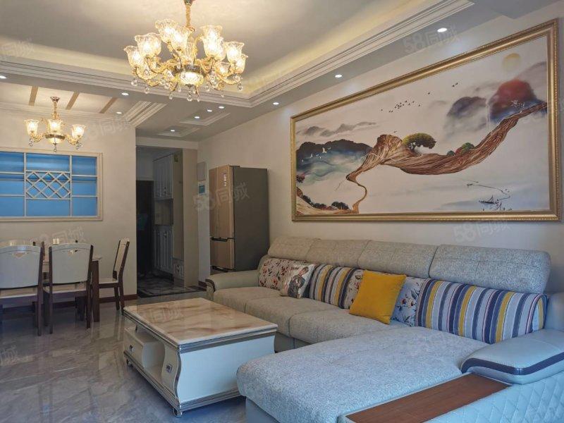 广高新城 有证可按揭 三室两厅两卫精装修
