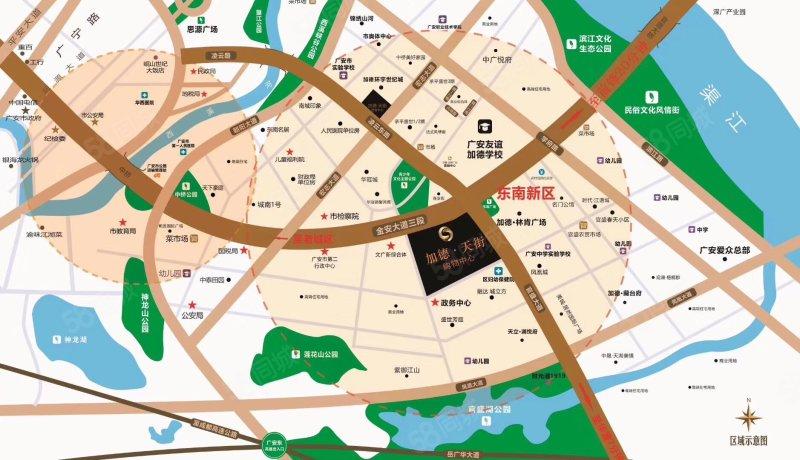 友谊加德学校 永辉超市 一百米 位置特别好正看中庭 和公园