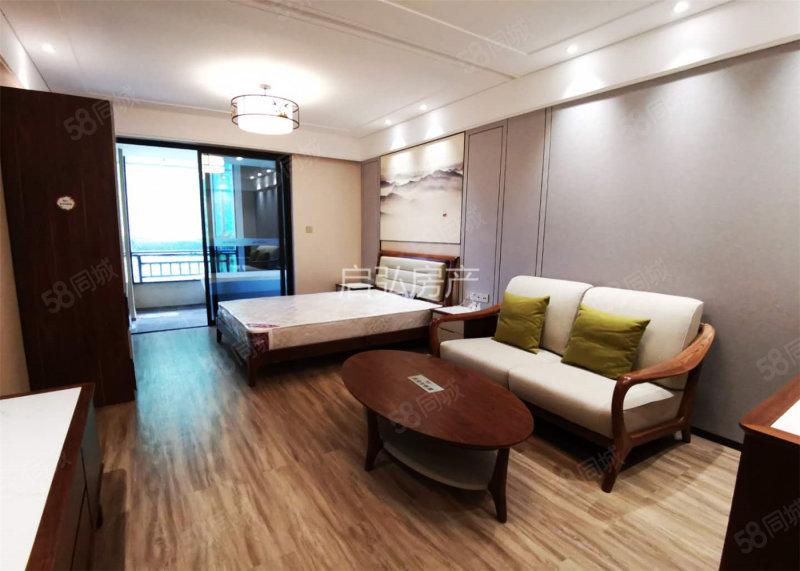 海棠湾(长基听棠)精装一居小户型,温泉入户独立厨房,配套齐全