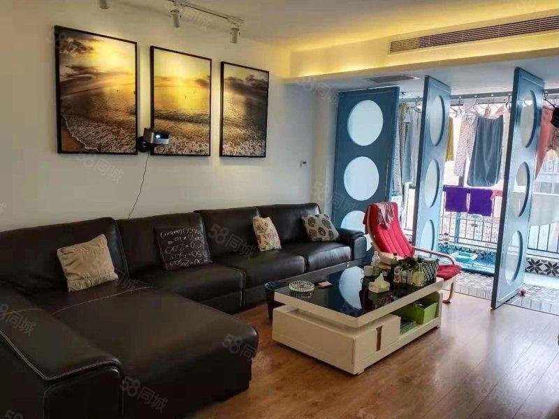 城西 汉水名城阅府豪华地中海装修3室 拎包入住 可以按揭