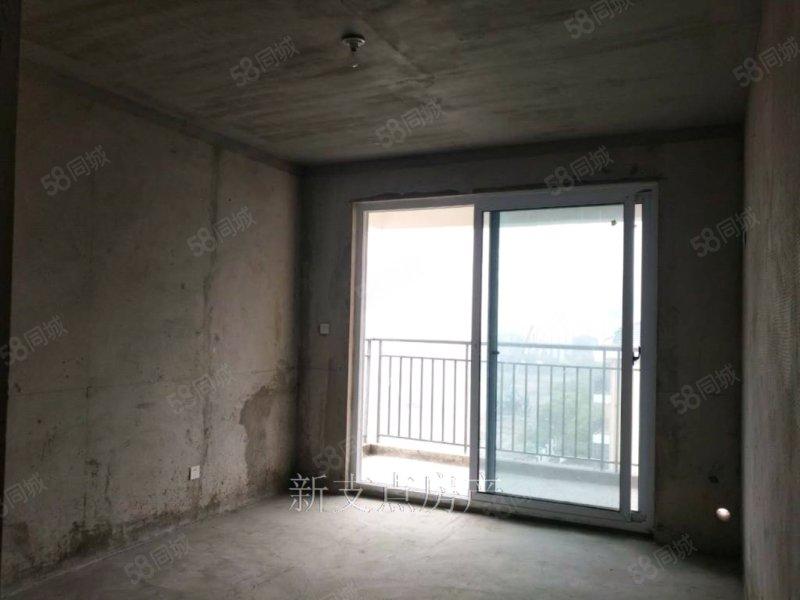洪盛国际111平 三室边户69.8万 全新毛坯 随时看房