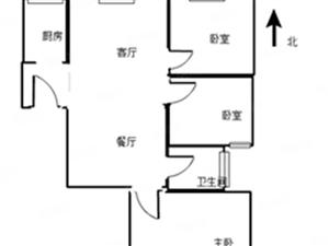 万达广场三室豪装家具齐全高档社区房子未住随时可看房