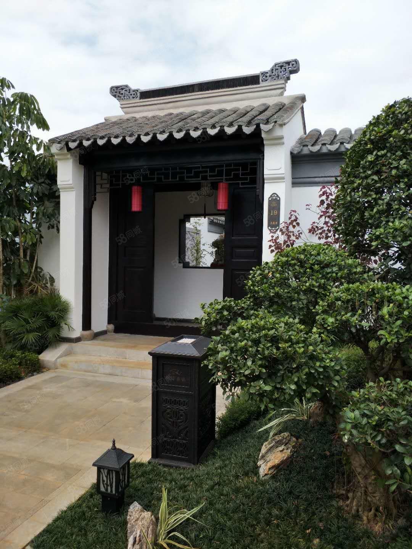 桃李春风中式院墅+大院子精装户型方正沿湖独栋临近机场