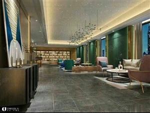 广龙小镇豪装公寓90平2室1厅1卫,层层退口阳台