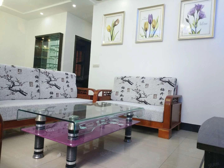上江北黄金2楼户型方正精装3室2厅家具家电全齐拎包入住