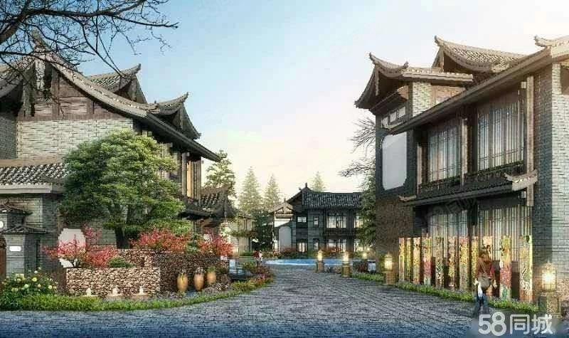 金茂谷镇独栋园林庭院式小别墅适合养老度假休闲