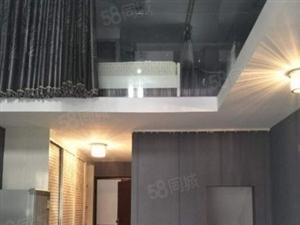 登高西路精致小楼中楼奢华中的精致业主装修20W