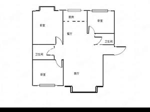 低于4000的均价,三居室的好房!住的舒心!
