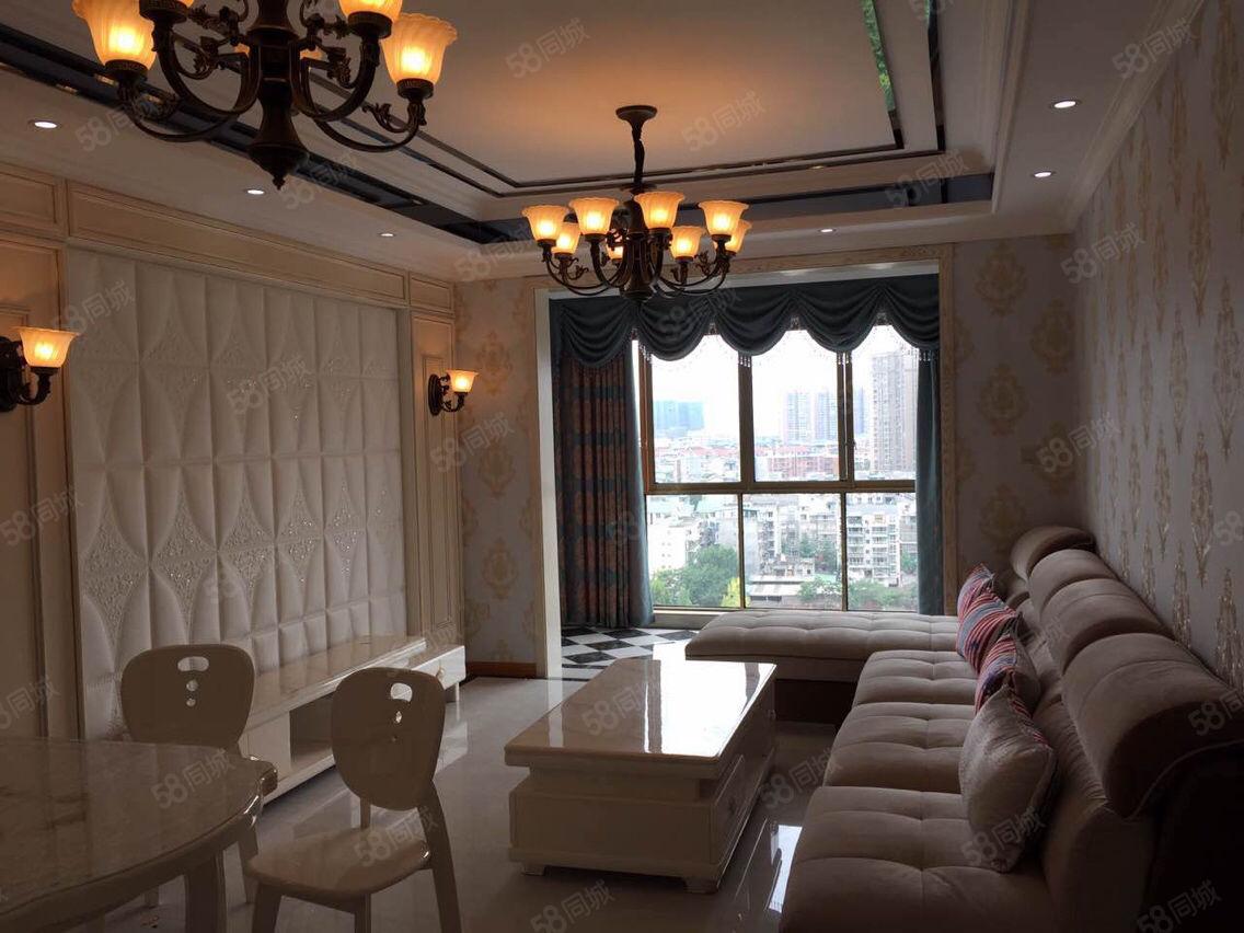卡地亚城邦83平米2室精装修家具齐全