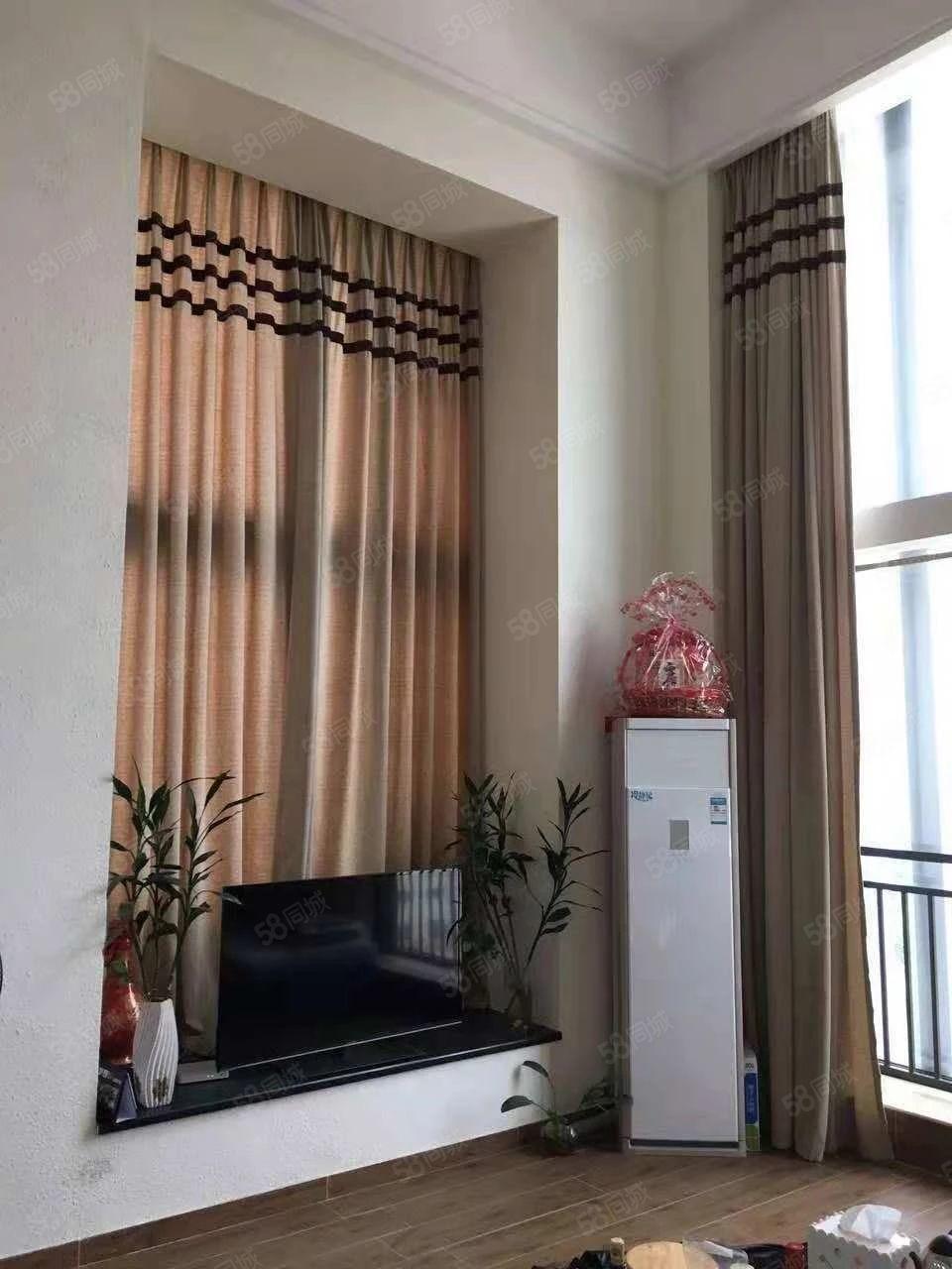阳东(华科国际)精装复式公寓,全新家私家电,1房1厅2卫