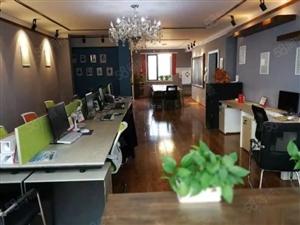222平豪装办公室!4个单独办公室。家电全留,设备齐全。