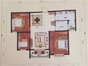 凤凰城C区现房、117平3室2厅、直签合同可贷款、东门十五中