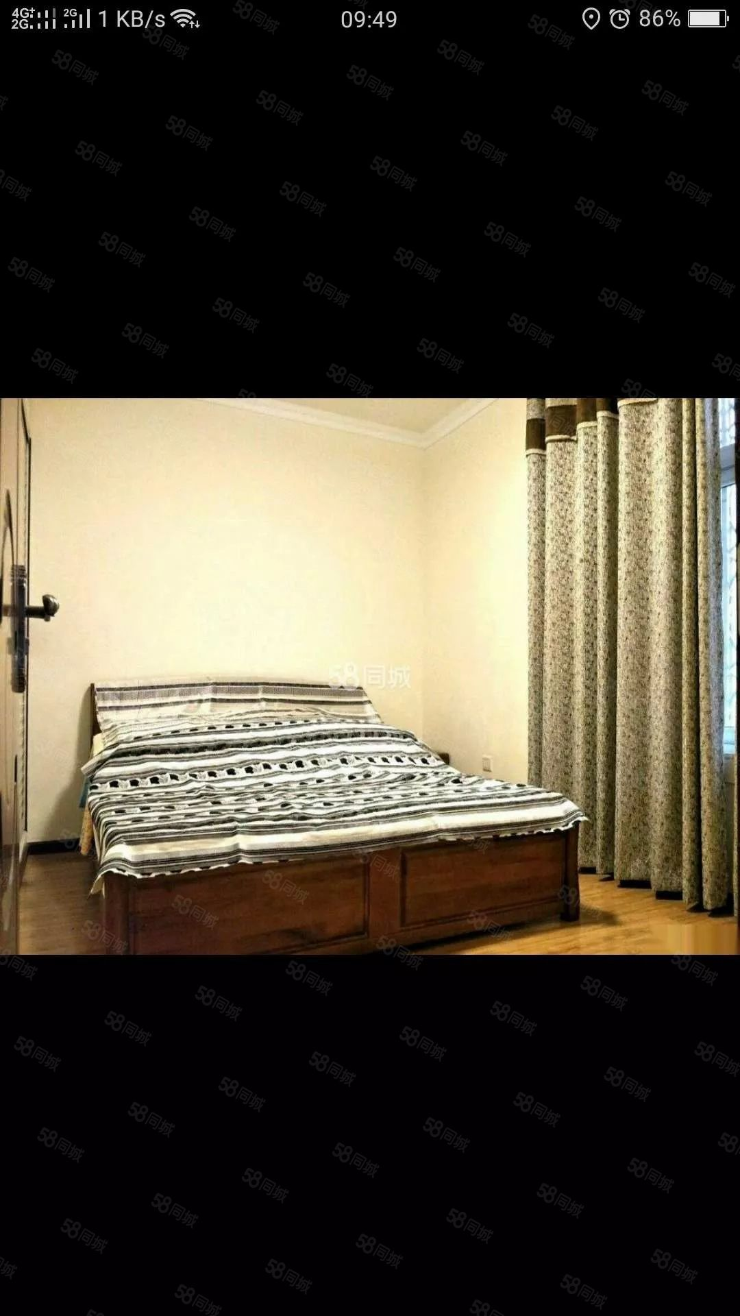 医疗中心旁跃层式家具家电齐全带空调看房方便