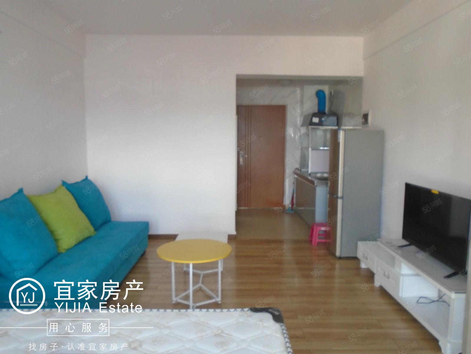时代广场、1室1厅1厨1卫、单身公寓、精装修、带全套家具澳门金沙平台