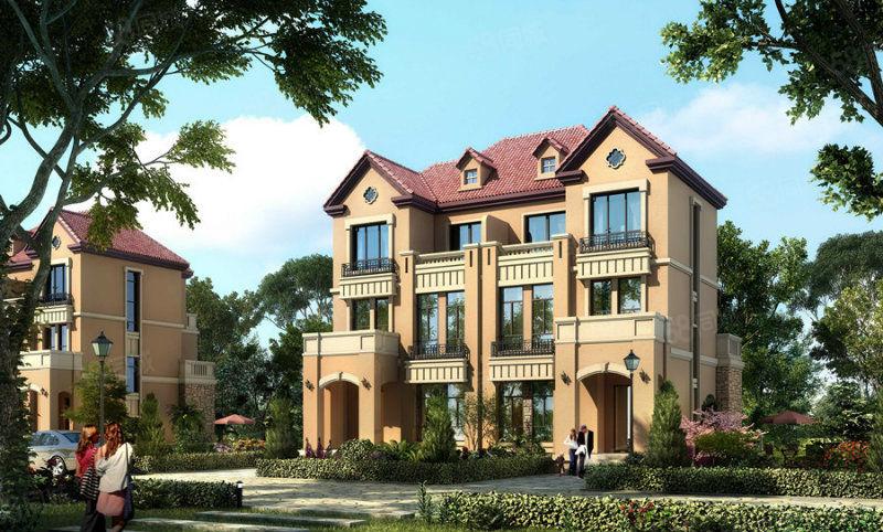 汤街小镇,三层小别墅,五室两厅,带花园,热门户型,豪门必备哦