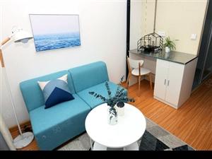 大石桥南阳路精装LOFT公寓押一付一拎包入住年底特价急租
