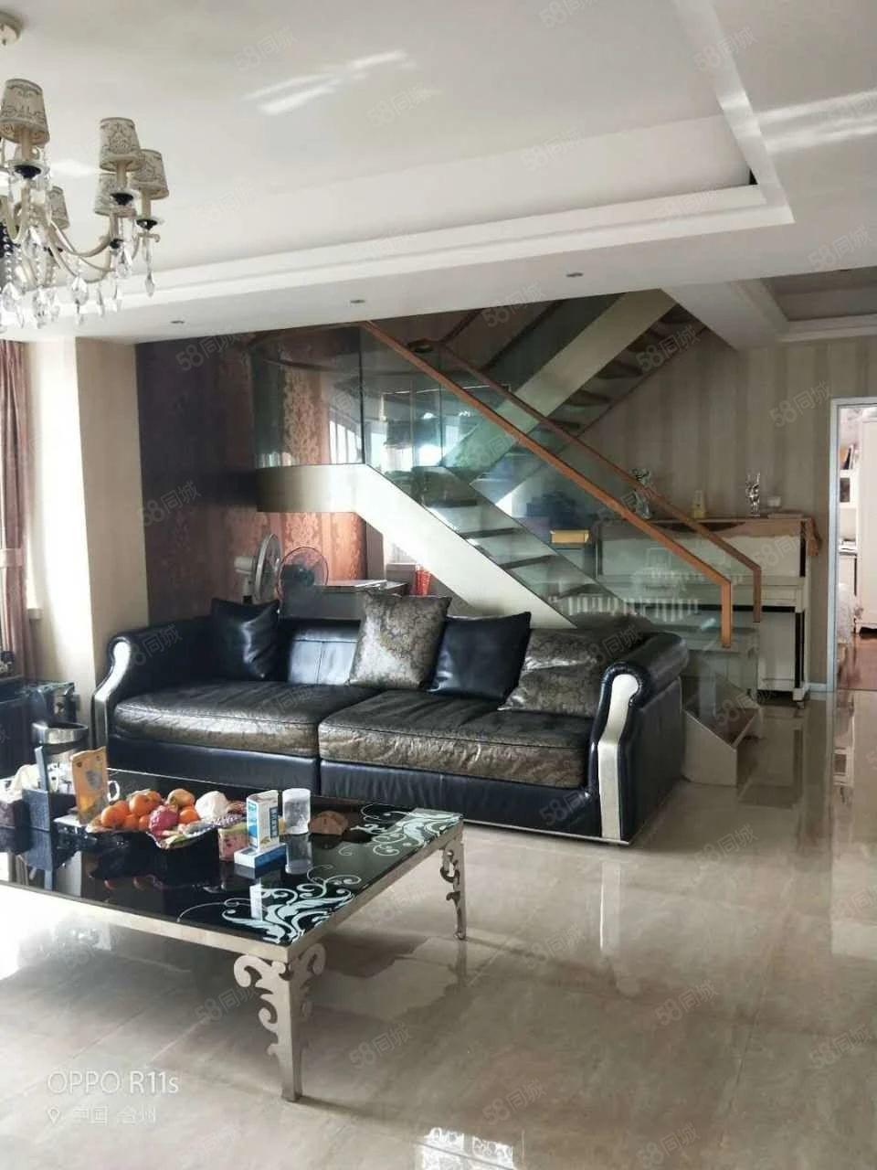 景泰嘉苑17层复式套房精致装修带车库价230万