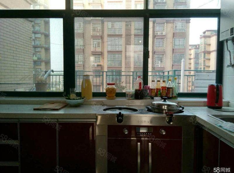 香格里拉精装厨房美大集成灶另送两个大平台