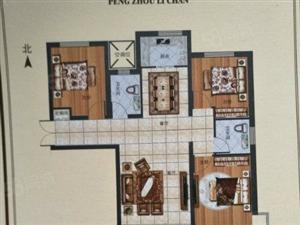 鹏洲丽城112平米东楼头通透小三居包更名可贷款53