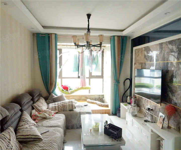 锦绣城、中间楼层、无税、送精装家具家电、图片真实有效、急售、