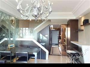 汉海国际复式楼火候山对面2居室装修随时看房