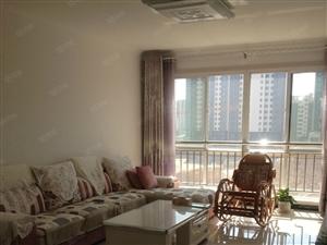 锦绣华城电梯房精装全套家具带空调干净设施齐全月租1300元