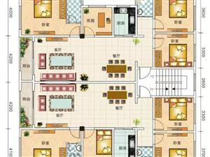 龙凤小区2栋6楼电梯房3室2厅2卫.