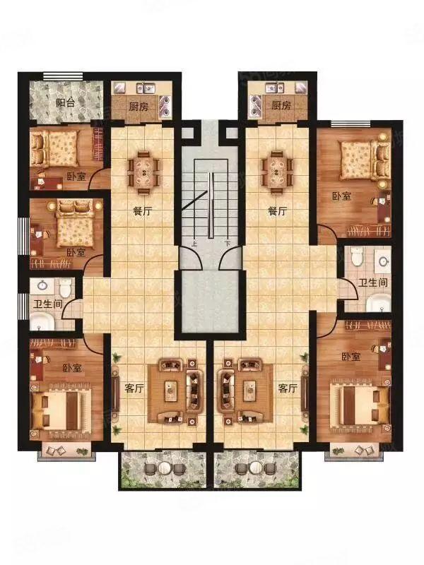 出售左衛天和小鎮多套房板樓帶電梯首付百分之30交四萬抵八萬