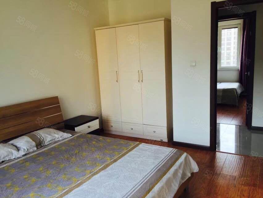 香漫花都95平精装修,2室1厅家具家电齐全年租2.7万