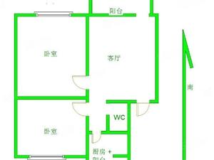 惠丰25院特便宜两居室首付10万好楼层方便过户