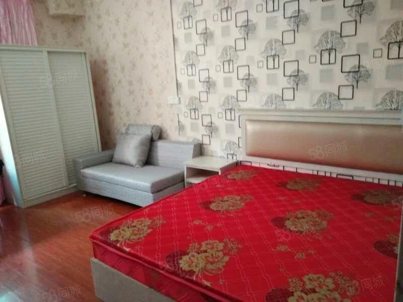 单身公寓楼出租全新装修所有家电家具全新的令包入住
