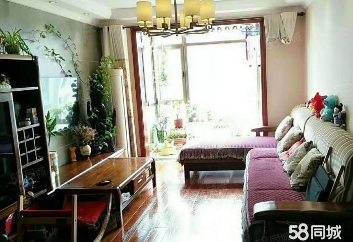 南昌路滨河新村清华园刚需小三室双气非顶楼可按揭急售
