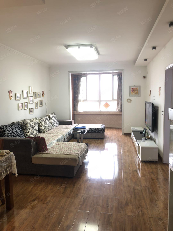 一号桥实验学校旁,湖滨家园大两室,采光暖气超好,拎包住随时看