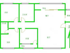 中房龙湖华苑,濮北新区旁,两室客厅朝阳,支持贷款,精装修