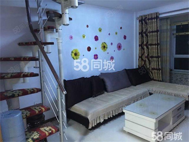 齐安雅居,80平精装2室,拎包入住带空调,年租13000!