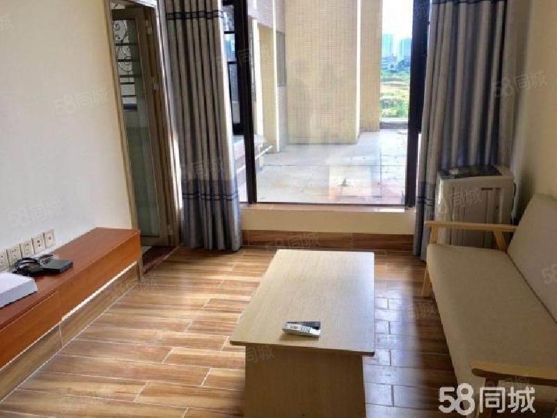 御海湾精装小户型公寓,全新家私电,未入住过,户型靓