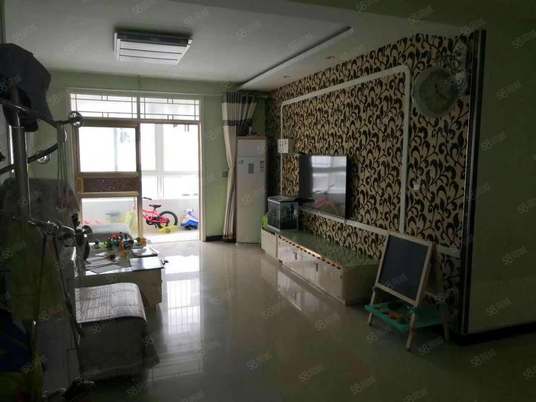 金水华庭电梯房,三室两厅两卫精装修,带地暖,带家具家电