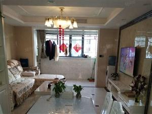 香槟一号140万3室2厅1卫精装修拎包入住高档小区
