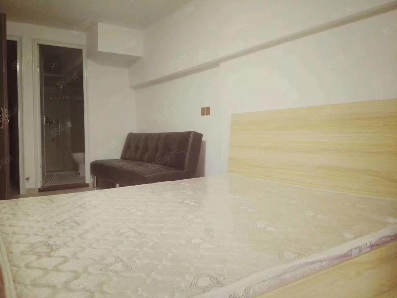 泰禾红树林万达旁精装单身公寓设备全新让您找到家的温暖
