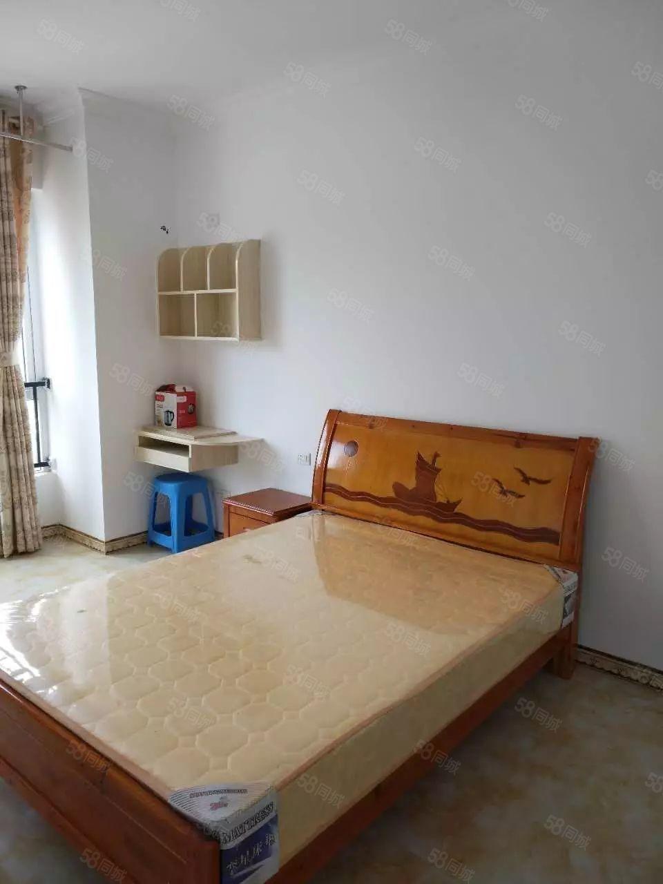 麒龙国际单身公寓精装家电家具齐全拎包入住