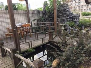 西区奢华跃层带露台花园鱼池产权面积180双证齐全满两年