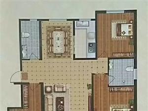 金域城洋房一层带小院,双阳卧,可贷款,首付百分之30
